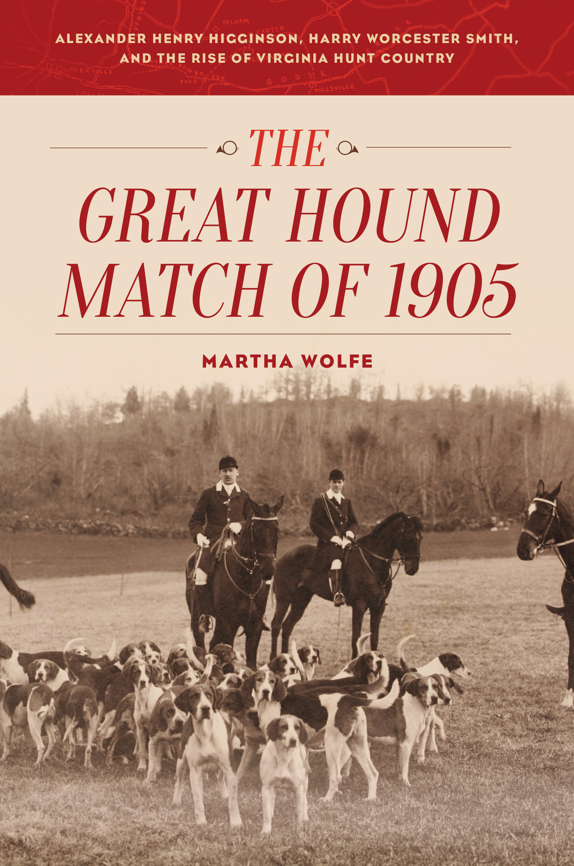 The Great Hound Match of 1905 by Martha Wolfe